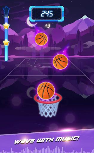 Beat Dunk - Free Basketball with Pop Music 1.2.1 screenshots 16