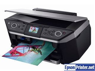 Reset Epson RX690 lazer printer with tool