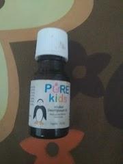 Review Pure Kids Decongestan Oil