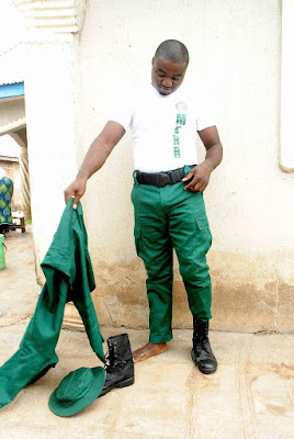 Tenimu Muhammed Resigned As a Forest Guard Under The Ministry Of Environment Due to Non Payment Of salary In Kogi state.
