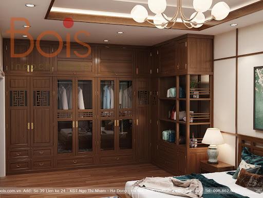 Tủ áo phong cách indochine