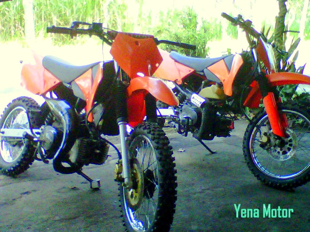 Modifikasi Supra Fit Jadi Trail