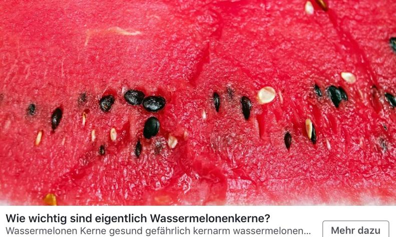 Wie wichtig sind eigentlich Wassermelonenkerne