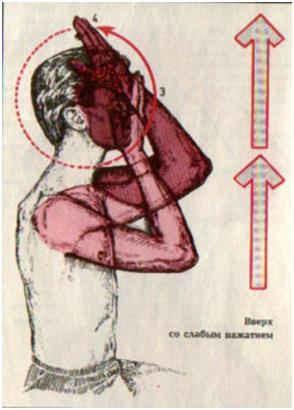 Мытье лица и головы