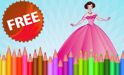 無料解谜Appの塗り絵の王女|記事Game