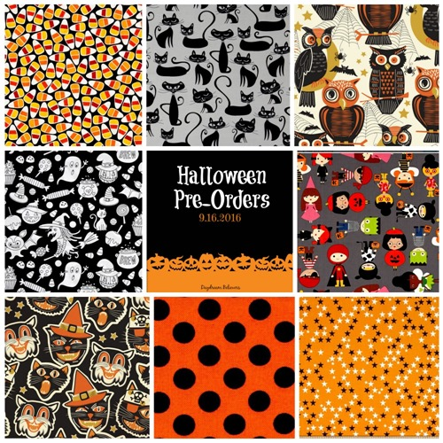 Daydream Believers Halloween Pre Orders for custom kids outfits and trick or treat bags