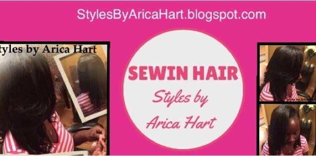 Sewin, weave, hair style, black hair