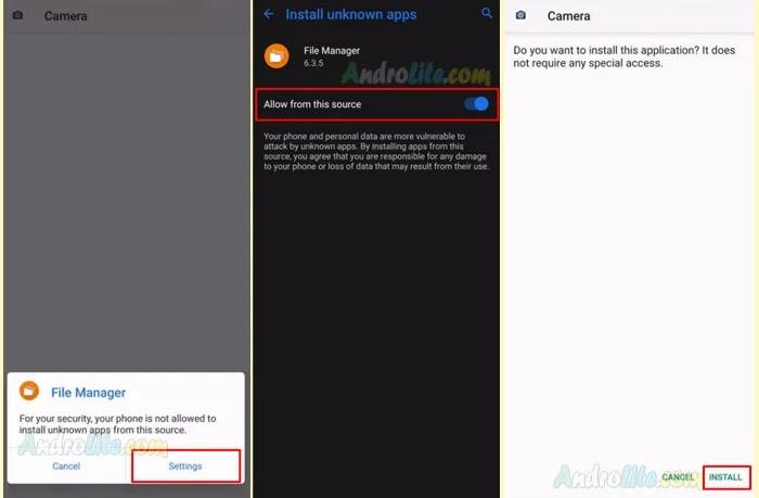 Install Gcam Apk Redmi 9, Note 9 dan Note 9 Pro