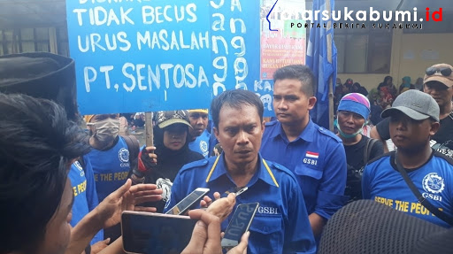 Dadeng Nazaruddin, Ketua Gabungan Serikat Buruh Indonesia (GSBI) Kabupaten Sukabumi