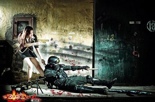 Game thủ Việt tung ảnh cosplay về Đột Kích 16