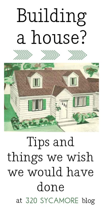 building a house tips