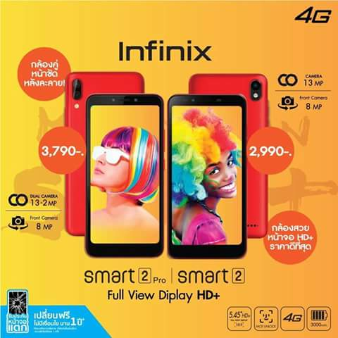 Infinix Smart 2 VS Infinix Smart 2 Pro: Specs, Review and Price.