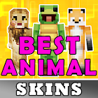 Meilleurs peaux animales pour Minecraft MCPE icon