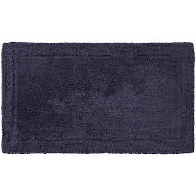 Коврик для ванной Ridder Amy чёрный 60х100 см