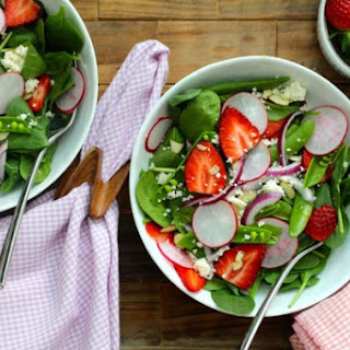 Strawberry Spring Salad.