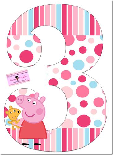 cumpleños peppa pig numeros (3)