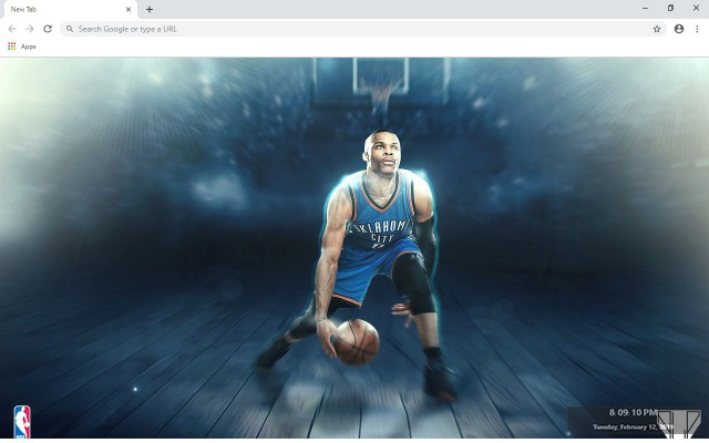 Russell Westbrook  NBA New Tab
