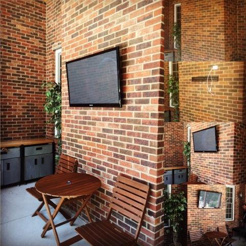 Flatscreen Tv Mount Installation On Brick Wall
