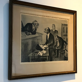 William Gropper Signed Lithograph #2