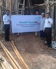 BSM KCP Sungai Lilin Alirkan Bantuan Berkah Ke Masjid Al Amin