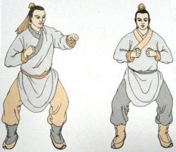 Седьмой кусок - Бить кулаками, смотреть гневно, чтобы развить свою ци и силу