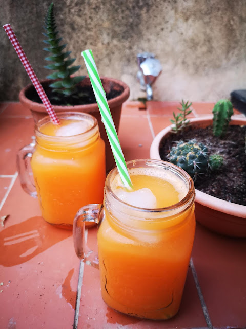 Bebida isotónica con Thermomix