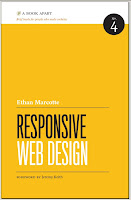 Responsive Web Design - Ethan Marcotte, book cover