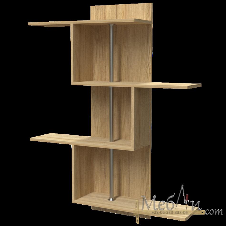 Полка навесная П-3 Фабрика Тиса мебель