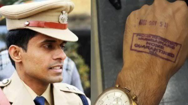 बिहार पुलिस ने आईपीएस अफसर विनय तिवारी क्वारंटाइन से मुक्त करने के लिए फिर लिखी बीएमसी को चिट्ठी