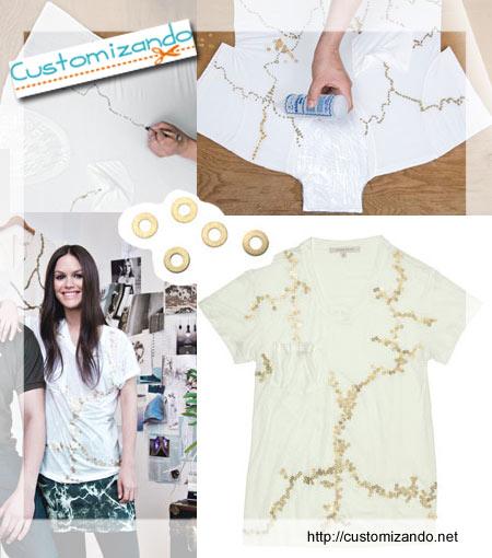 Como customizar camisetas