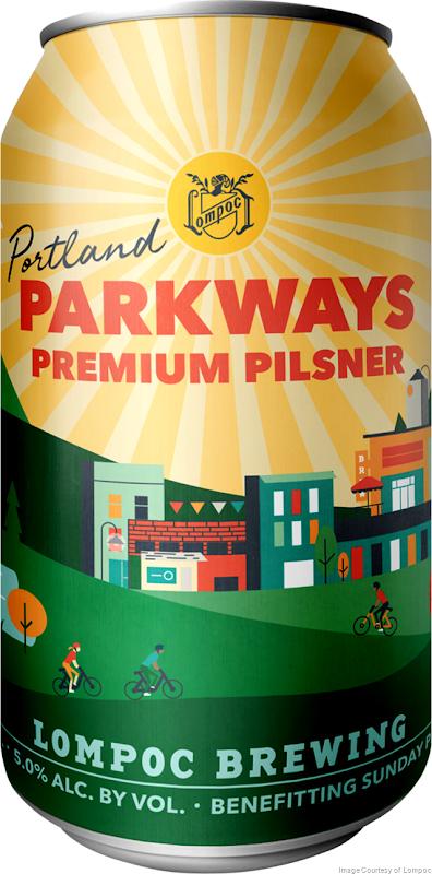 Lompoc Releasing Portland Parkways Premium Pilsner in Celebration of Portland Sunday Parkways Program