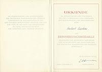 0615 20 Jahre Kampfgruppen oorkonden