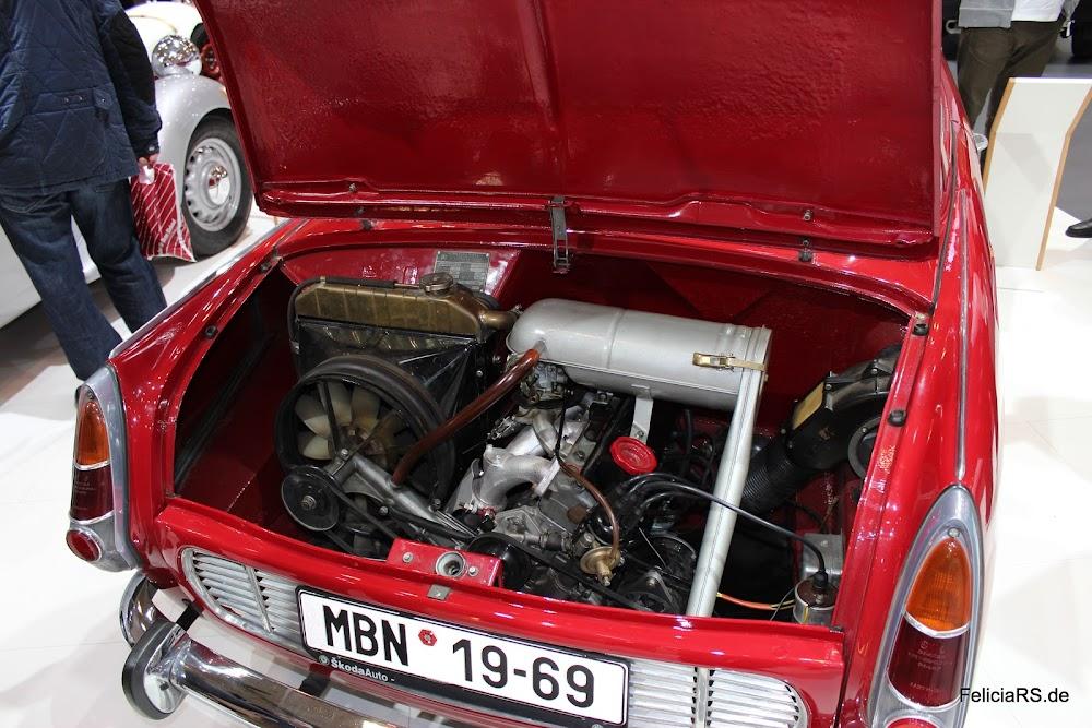 0,1 Liter mehr als meine Lucie der Motor des 1100 MBX