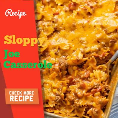 Flip flop cherry cobbler and Sloppy Joe Casserole Recipe