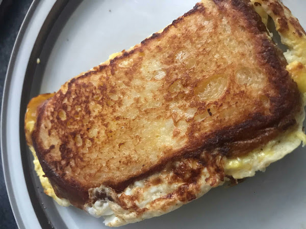 Easy Egg Toast Recipe