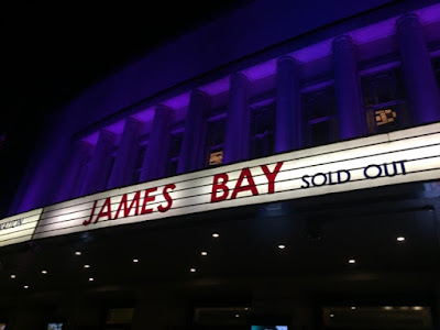 James Bay tour, Hammersmith Apollo London