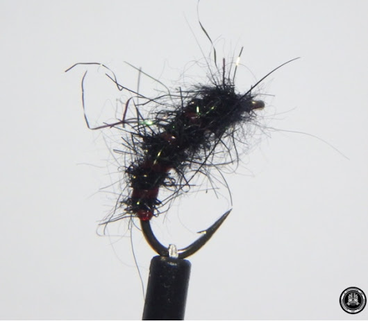 Fly tying BARBELS' NYMPH
