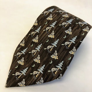 Hermès Beaver Tie