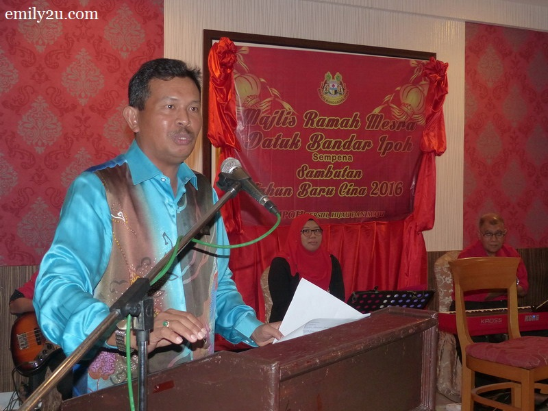 Chinese New Year Luncheon with Ipoh City Mayor