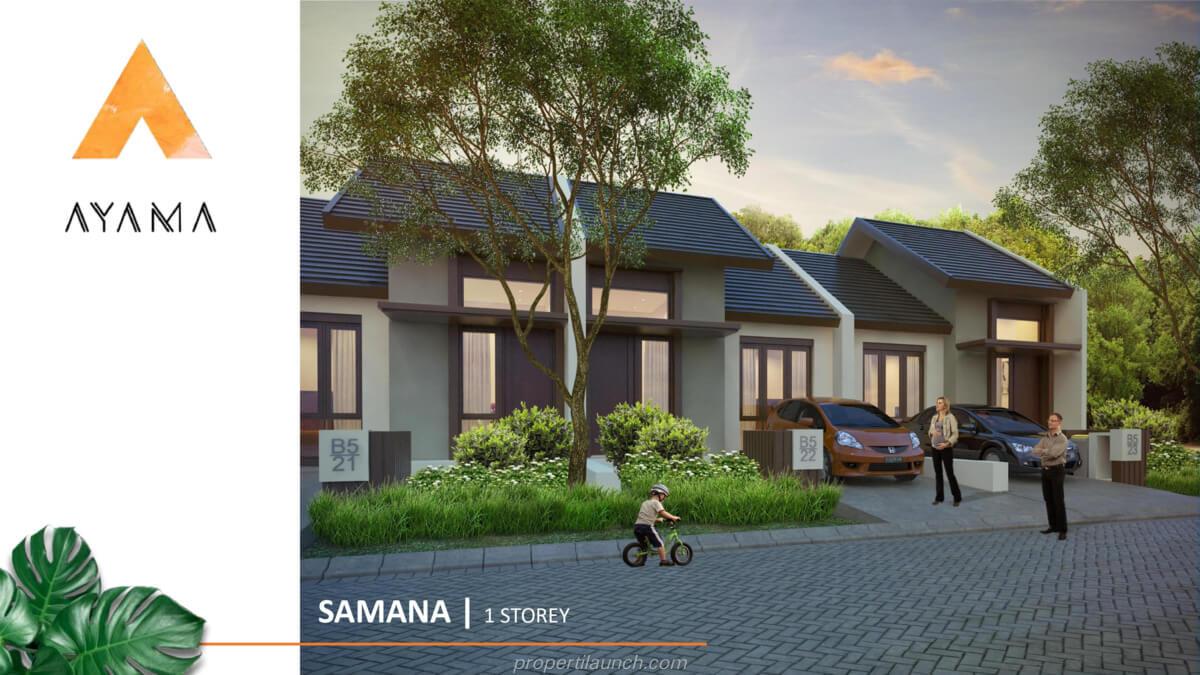 Rumah Ayama Bhumi Amala Tipe Samana 1 Lantai
