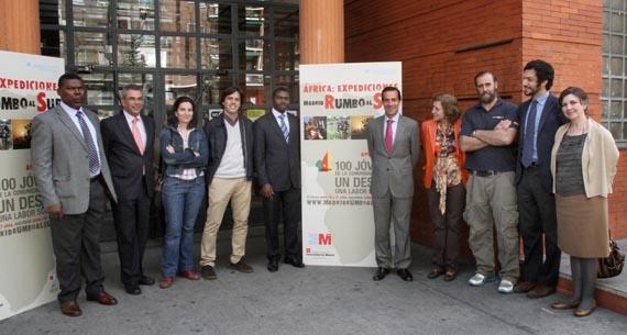 'Un viaje solidario por África' exposición para conocer Madrid Rumbo al Sur