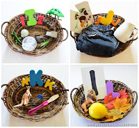 Object Baskets for I to P