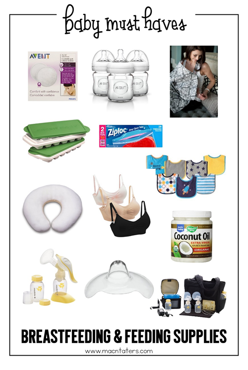 Breastfeeding and feeding supply must haves