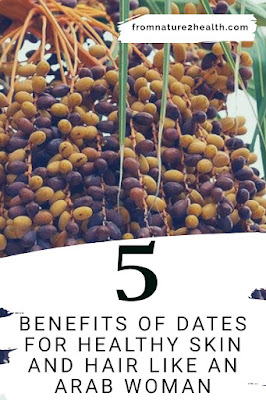 Dates for For skin elasticity, Dates for Maintain youthful skin, Dates for Overcoming hair loss