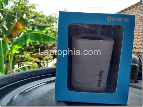 Desain Philips BT100 Wireless Speaker
