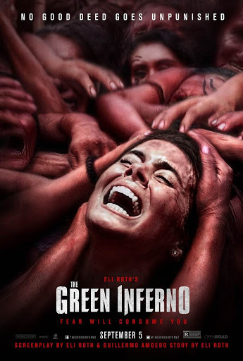 The Green Inferno Κανίβαλοι Poster
