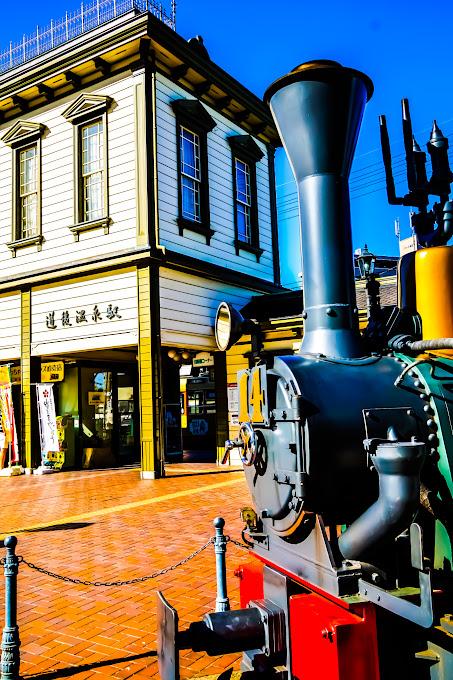 Dogo Onsen (Dogo Hot Springs), Botchan train 3