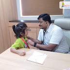 Medical Check up held for Jr.Kg Section at Witty World Bangur Nagar (2018-2019)