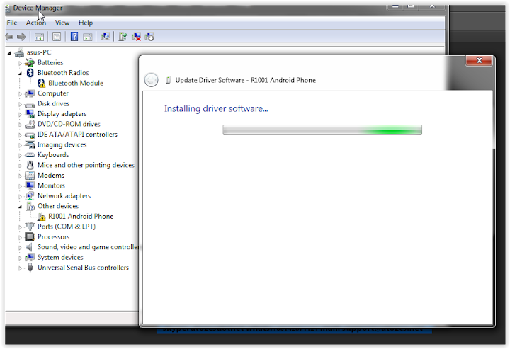driver software oppo r1001