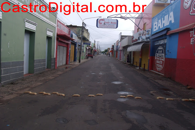 Rua Benedito Leite, Calçadão de camelôs sem barracas
